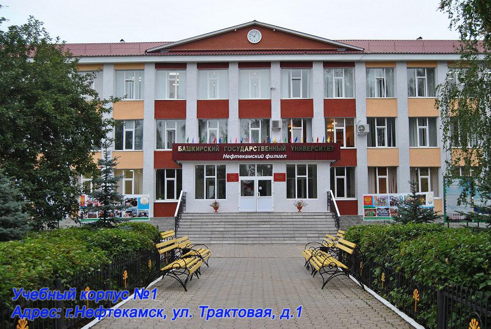 Башкирский государственный университет — филиал в г. Нефтекамск